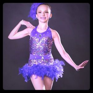 2 In 1 Dance Costume- CHILDS SIZES (4)